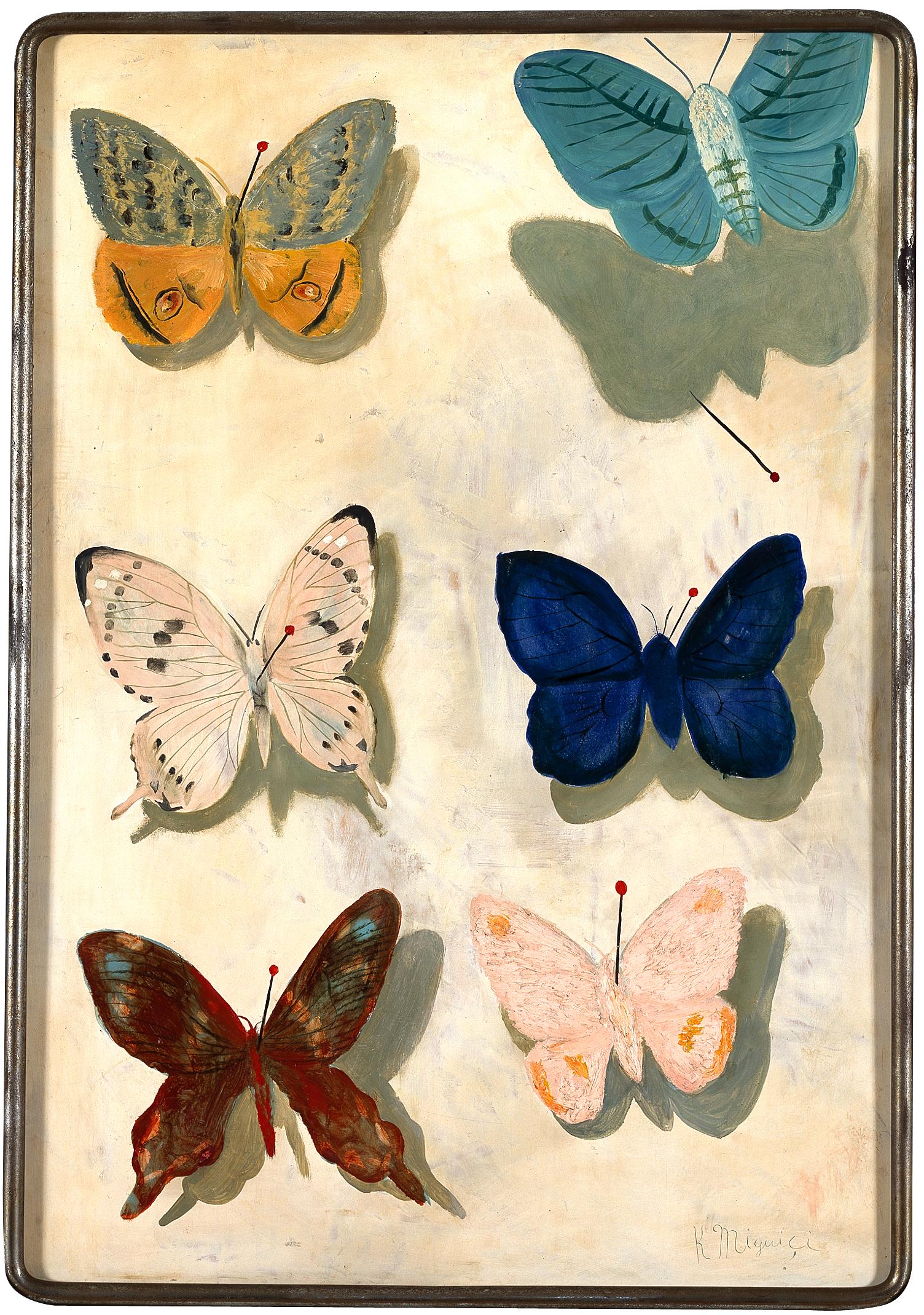 画像:<p>Kotaro Migishi Flying Butterfly Collection of Migishi Kotaro Museum of Art , Hokkaido (mima)</p>