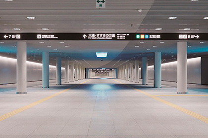 札幌国際芸術祭2014札幌駅前通地下歩行空間(チ・カ・ホ)鑑賞ツアー