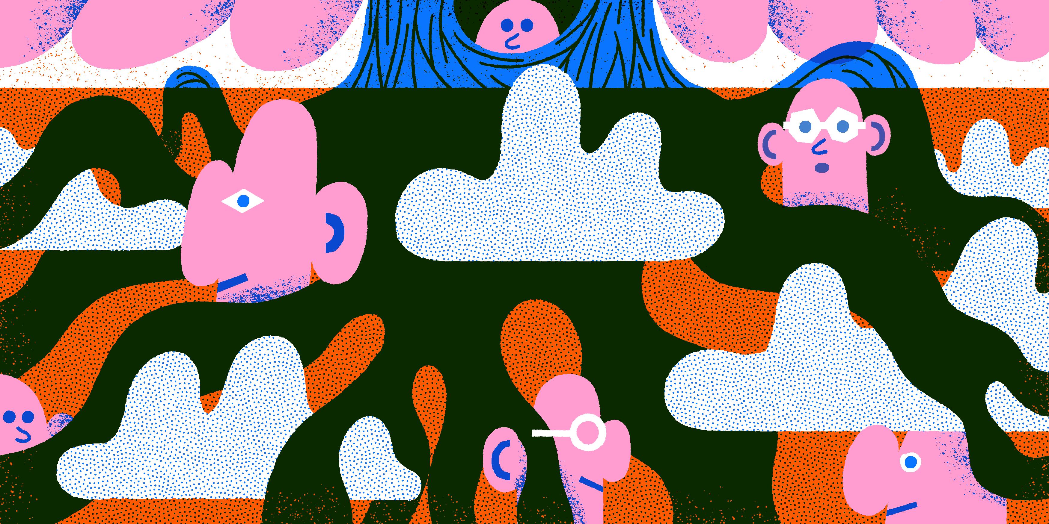 画像:みんなの・みんなで「Of Roots and Clouds」イメージ
