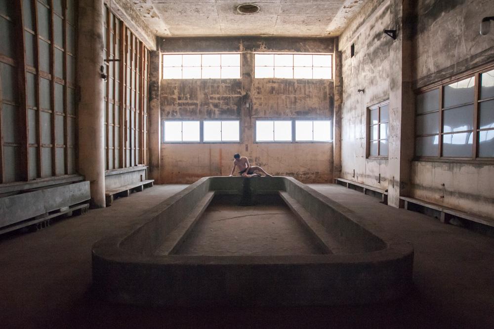 画像:<p>《理想の風景》(旧住友赤平炭鉱坑口浴場での撮影)2019年</p>